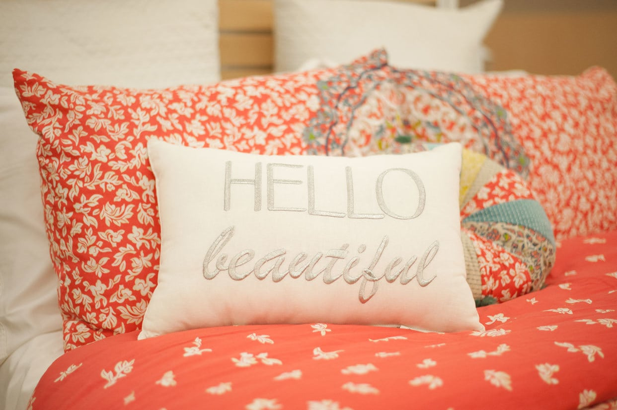 Spring pillows at Home Outfitters