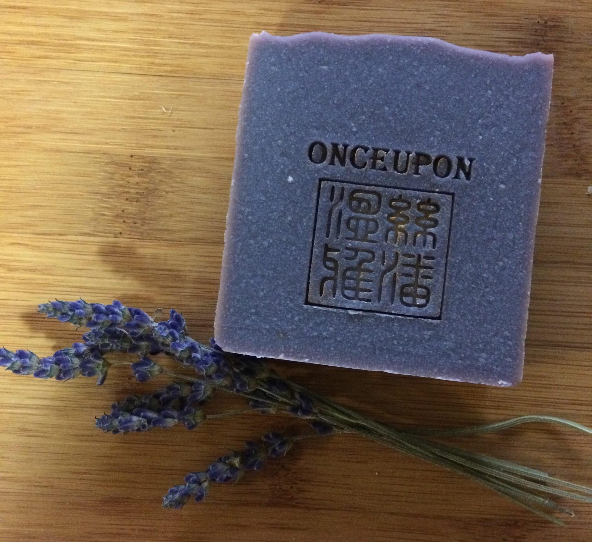 onceupon soap local maker