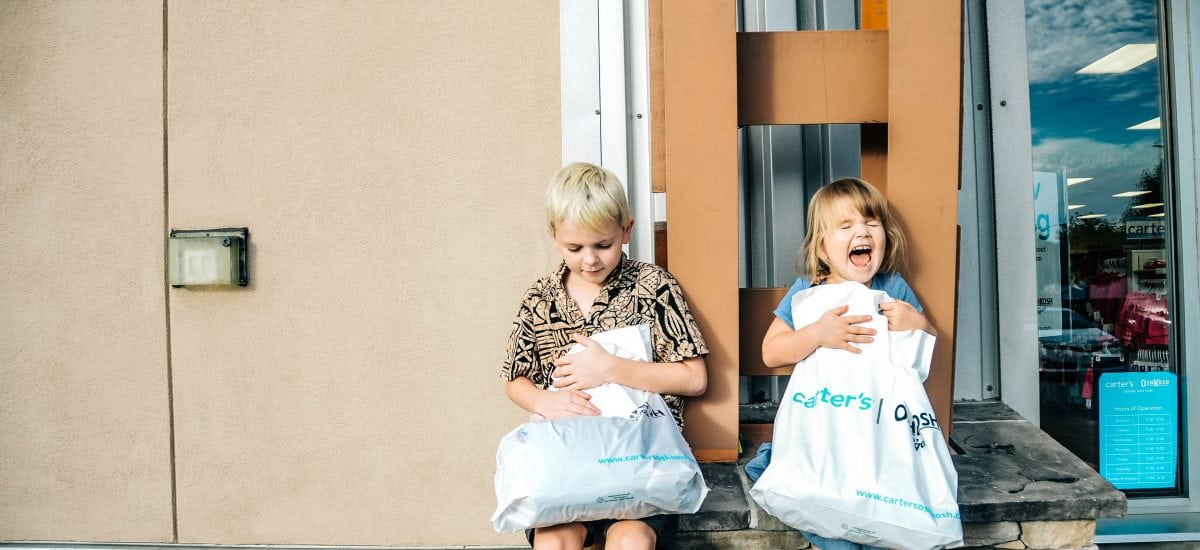 7 Tips for Back to School Shopping With Your Kids