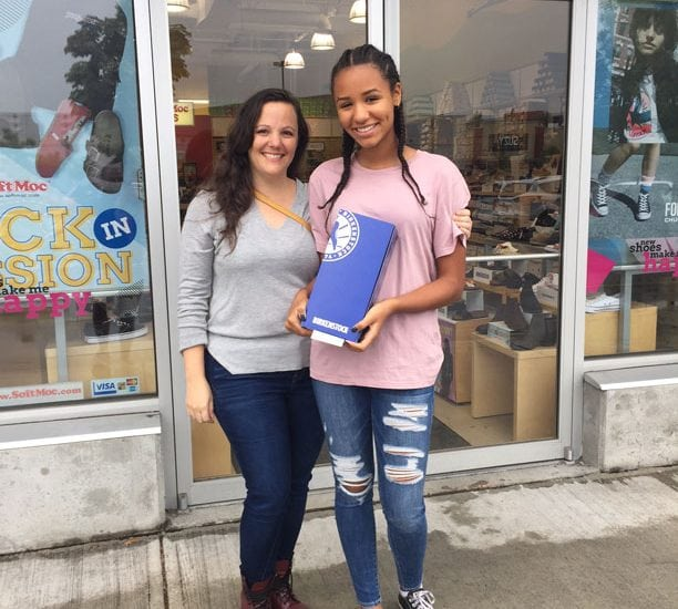 Back to School Contest Winners Shop at Queensborough!