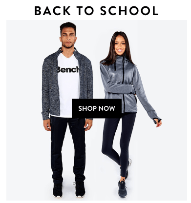 Bench Factory - Back to School Deals