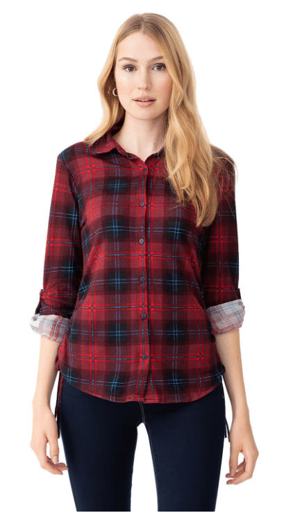 Fall looks - plaid shirt