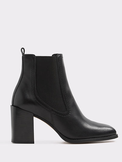 Fall looks - black bootie