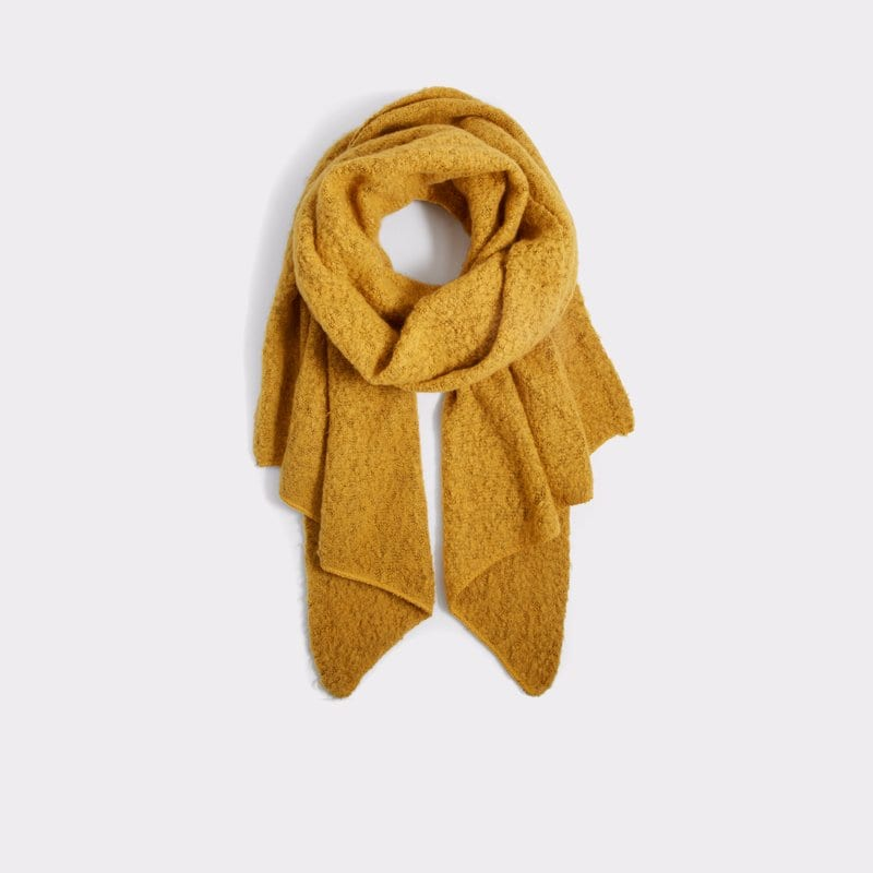 new wardrobe - yellow scarf