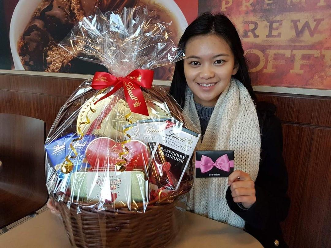 Winnie Wong is our winner!