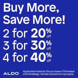 QBL Aldo Buy More Save More