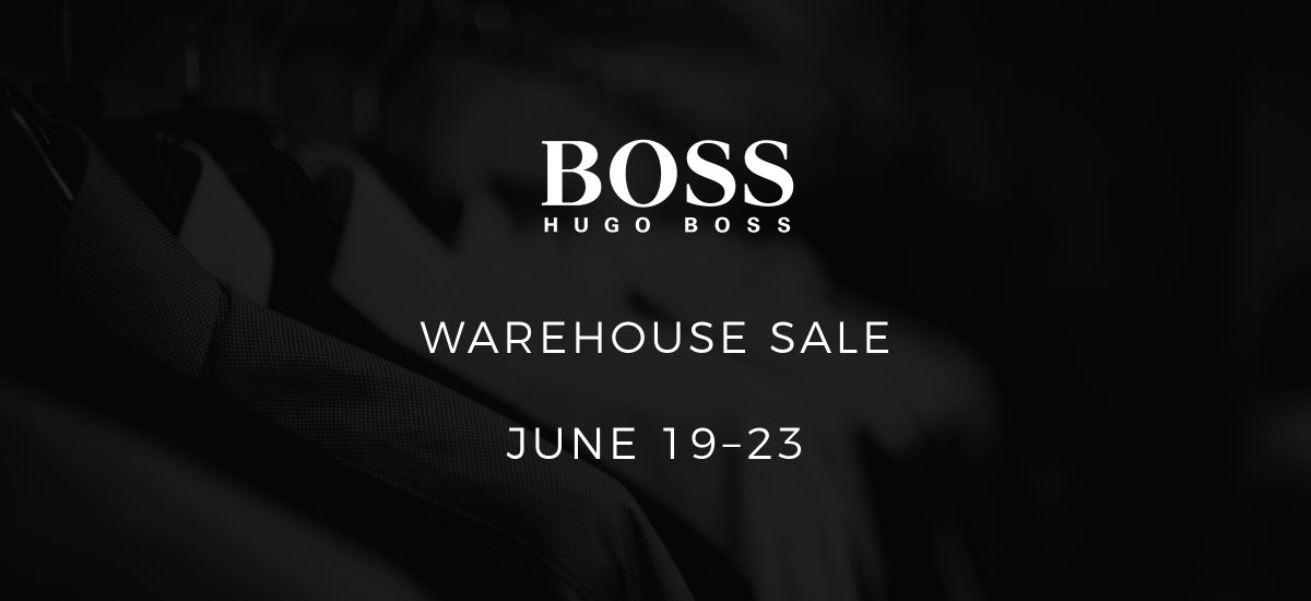 Queensborough Landing HUGO BOSS Warehouse Sale