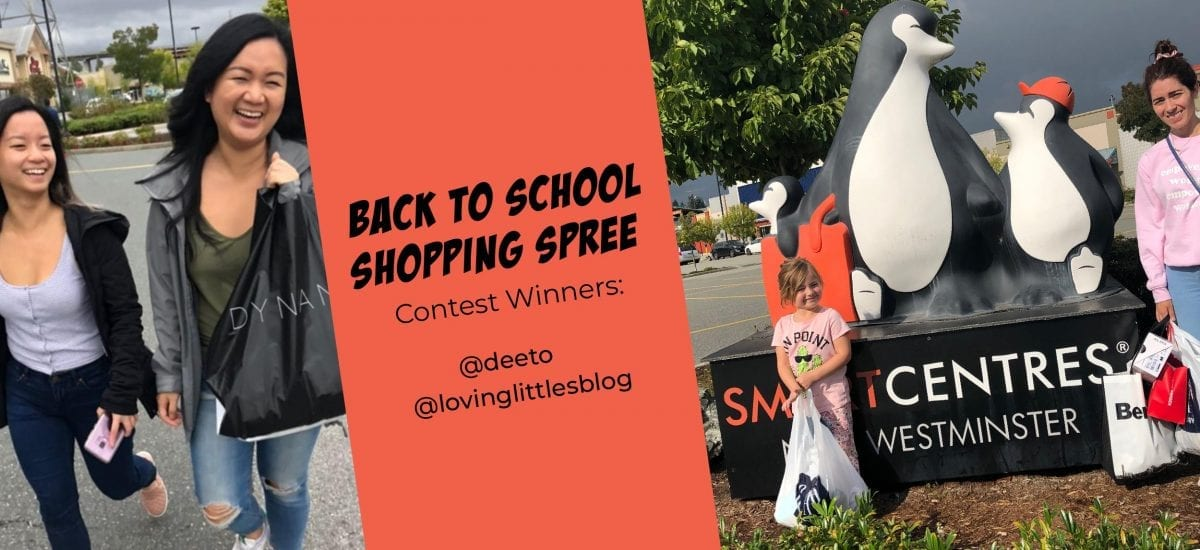 The 2019 Back to School Shopping Spree Contest Recap